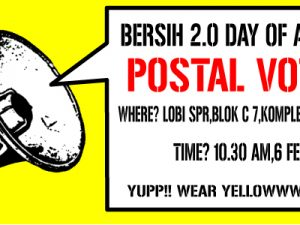 Bersih 2.0 Statement on Election Commission's Changes to Postal Voting Regulations