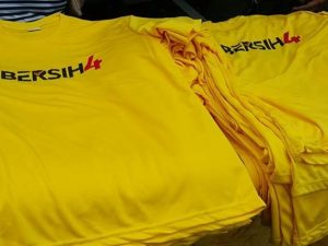 Bersih 4 T-shirts now a symbol of our rights, freedom, and expression