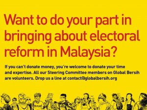Support Global Bersih's Fundraising Campaign