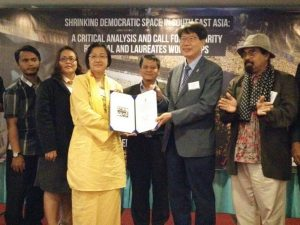 PRESS STATEMENT (19 OCTOBER 2016): Ceremony of the Gwangju Prize for Human Rights Award to Bersih & Adil Network Sdn. Bhd