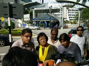 MEDIA STATEMENT (20 OCTOBER 2016): BERSIH 2.0 chairperson lodges police report after red paint splashed on son's car, condemns acts of political violence