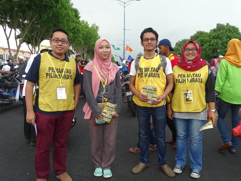 BERSIH election observers in action
